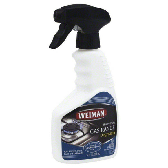 Weiman, Gas Range Degreaser, 12 oz