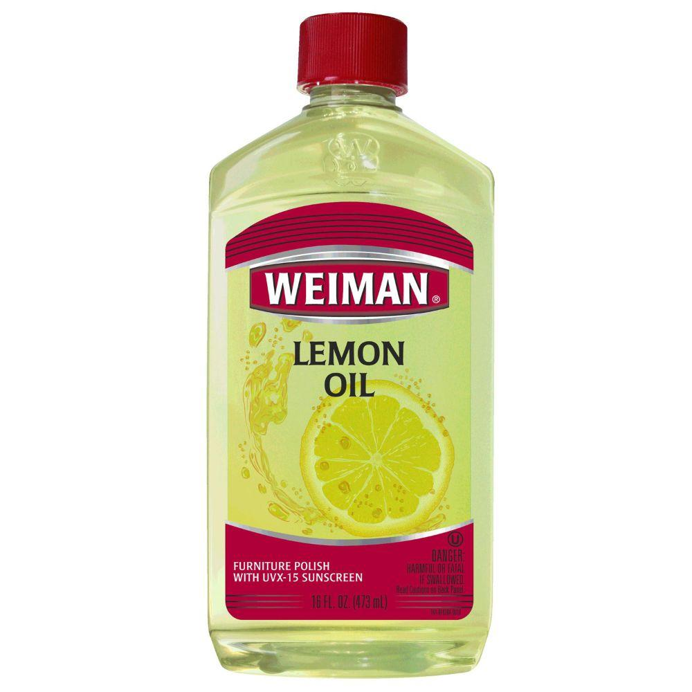 Weiman, Furniture Polish Lemon Oil, 16 oz