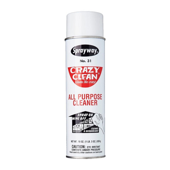 Sprayway, Crazy Clean All-Purpose Cleaner, 19 oz