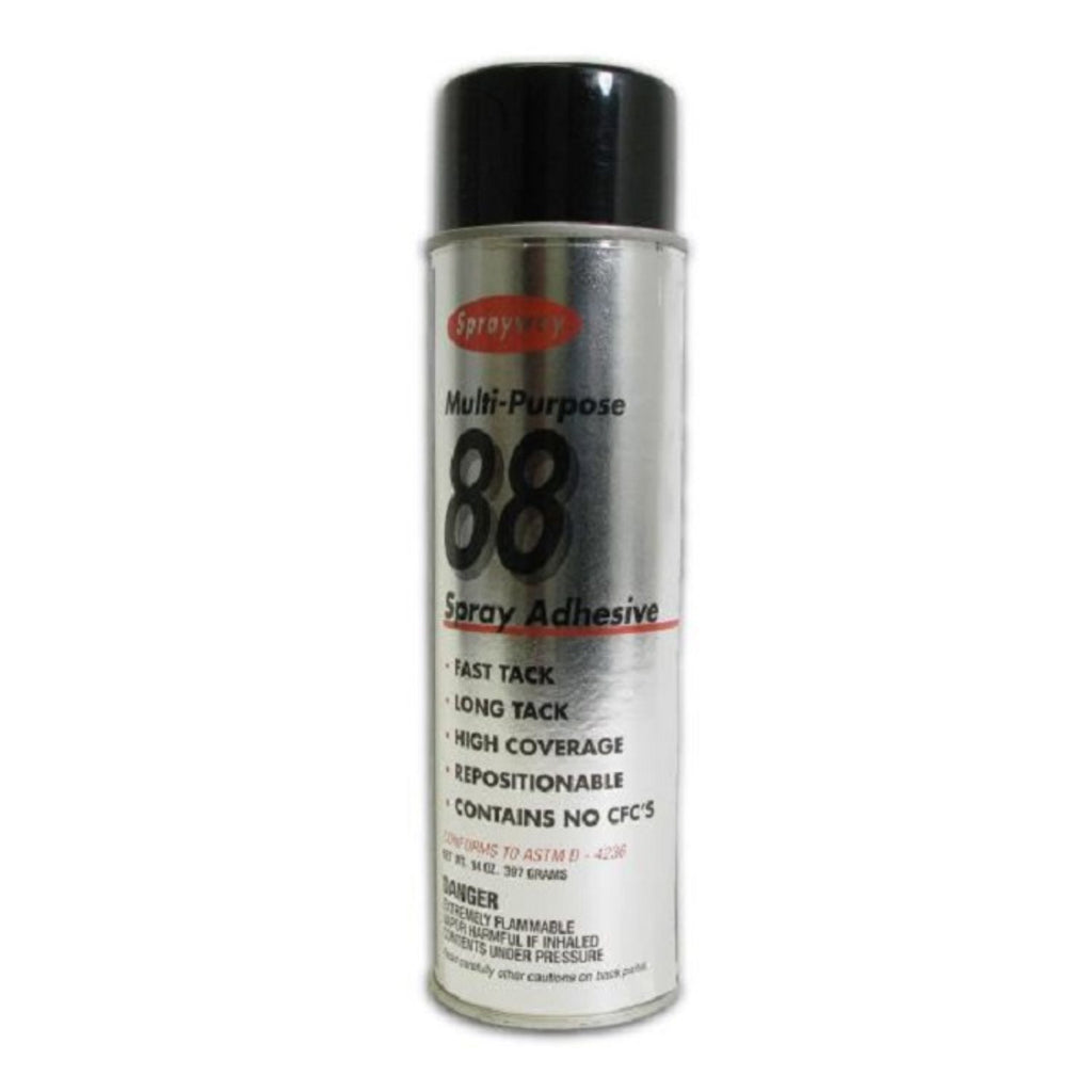 Sprayway, Multi Purpose 88 Spray Adhesive, 14 oz