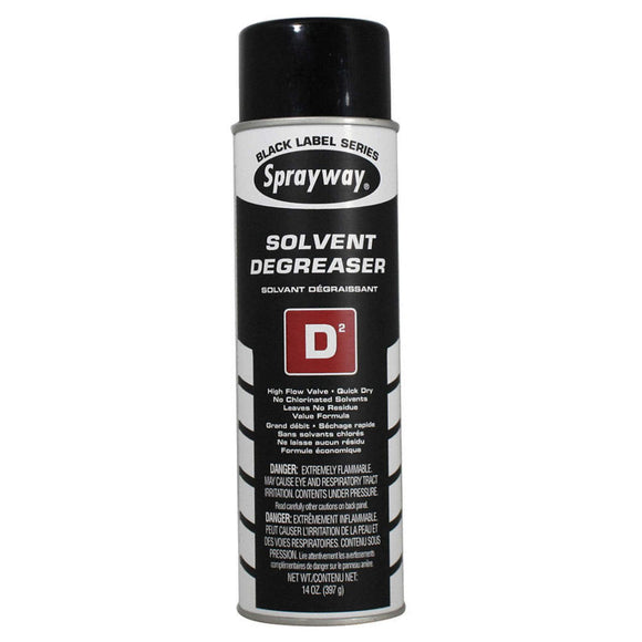 Sprayway, Solvent Degreaser D2, 14 oz