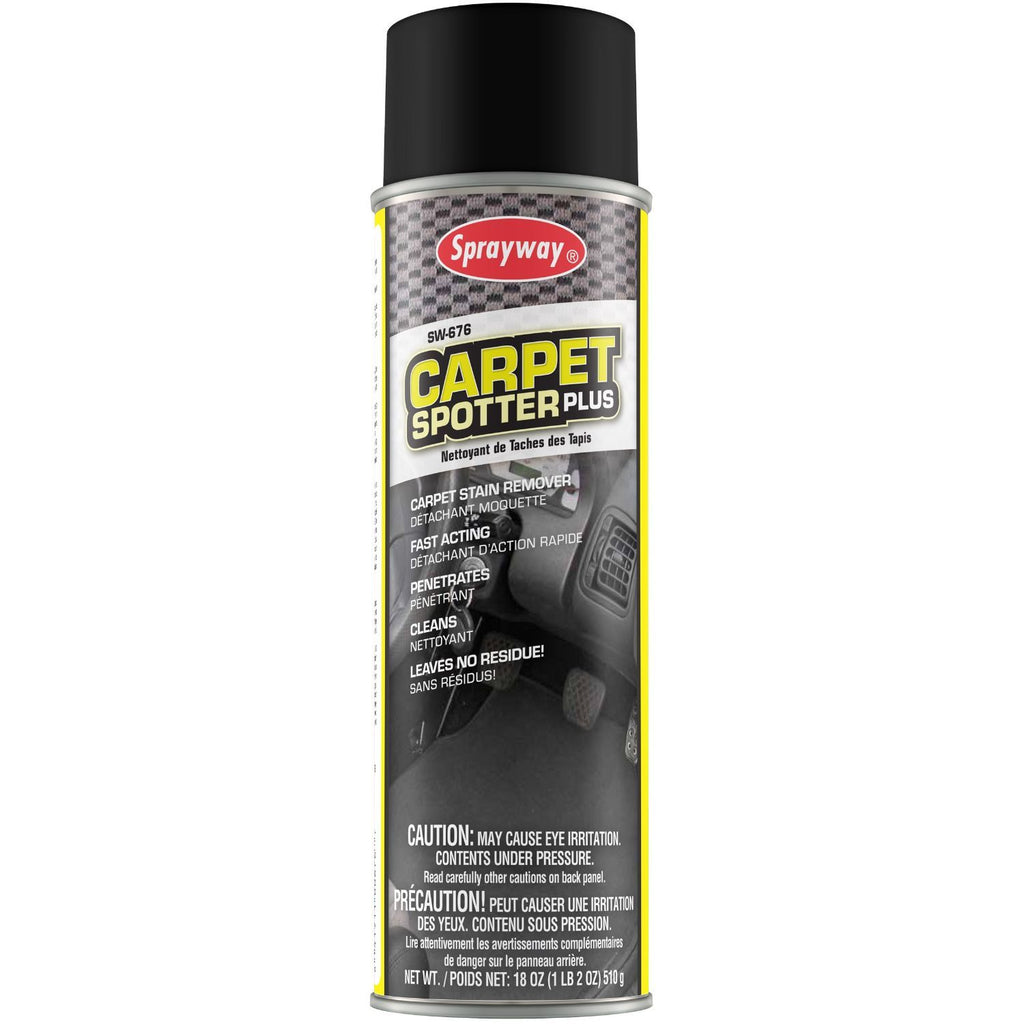 Sprayway, Carpet Spotter Plus Stain Remover, 18 oz