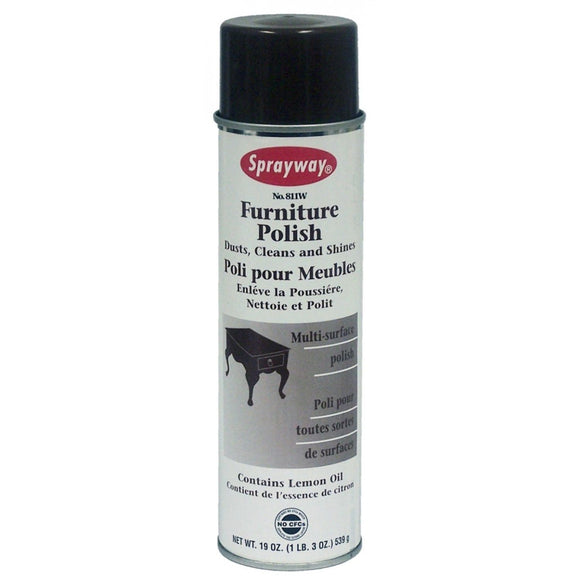 Sprayway, Furnitur Polish, 19 oz