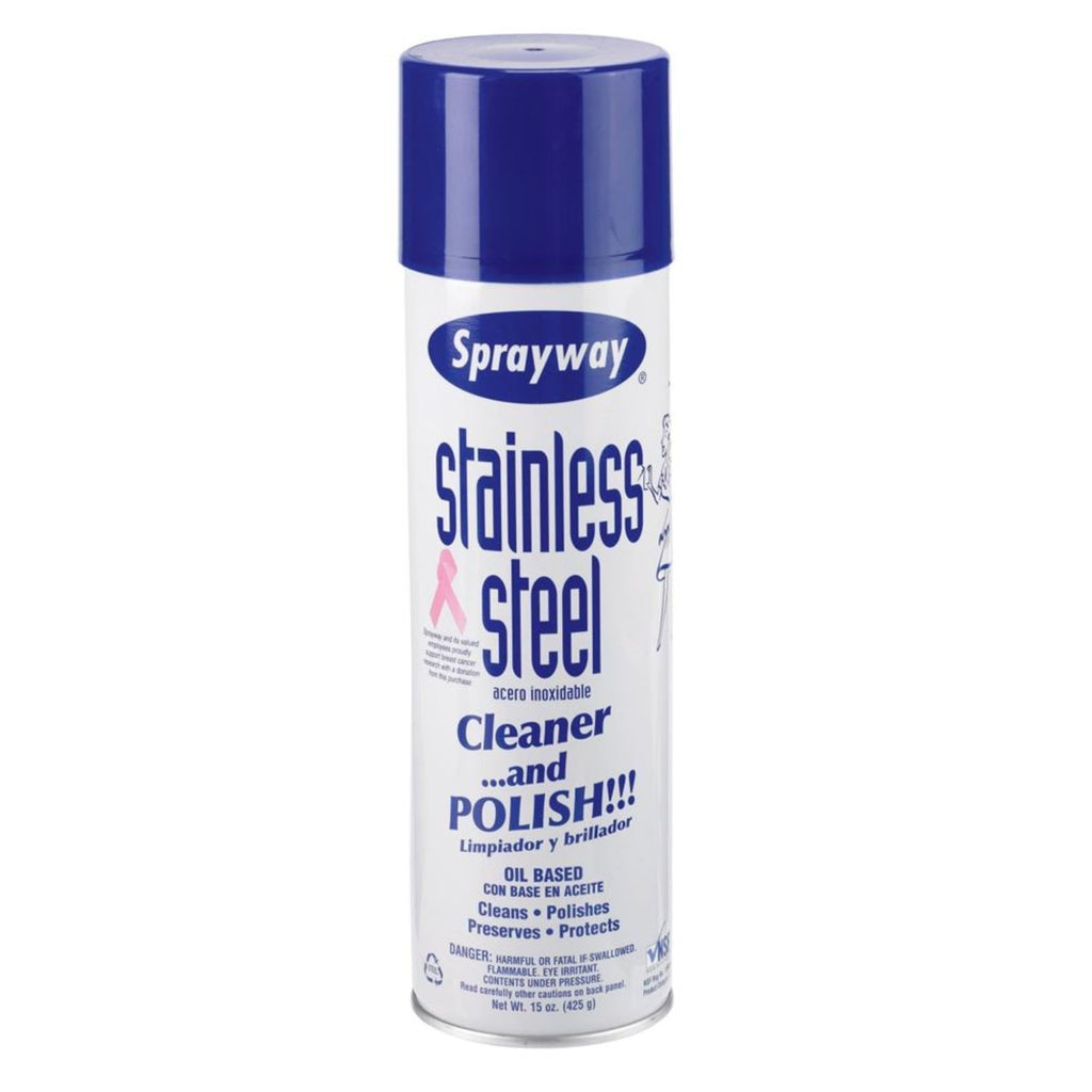 Sprayway, Stainless Steel Cleaner, 15 oz