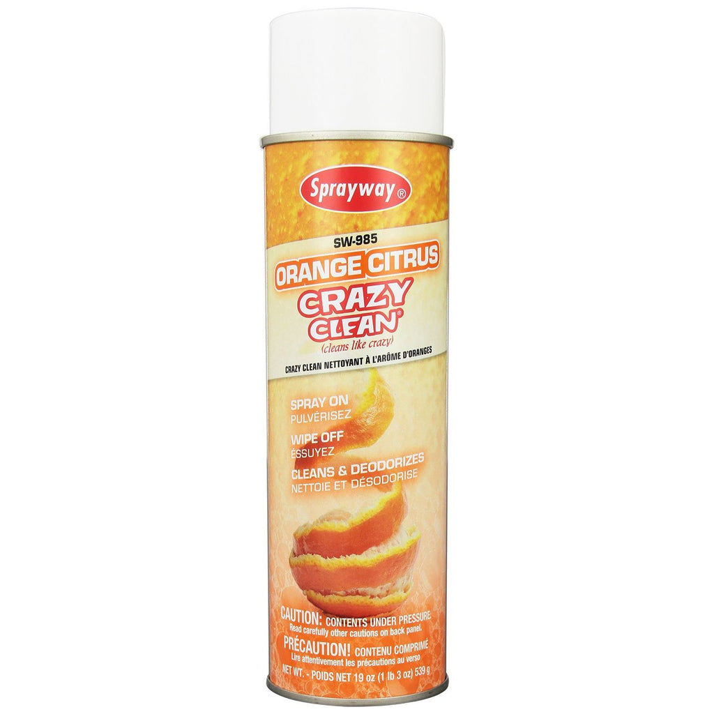 Sprayway, Crazy Clean Orange Citrus, 19 oz