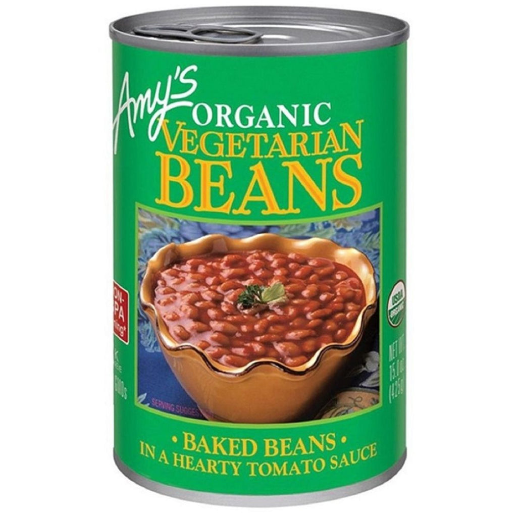Amy's, Organic Vegetarian Baked Beans, 15 oz
