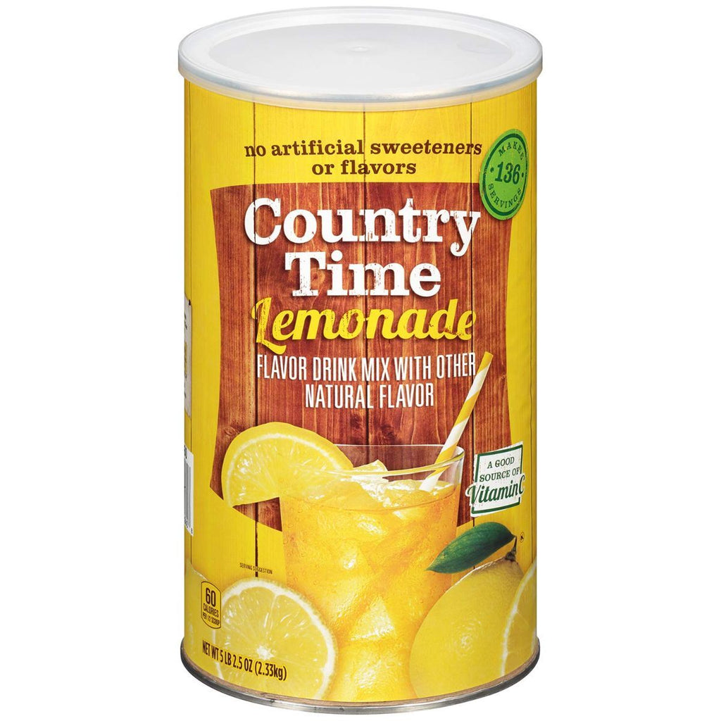 Country Time Lemonade Mix, 2.33 kg