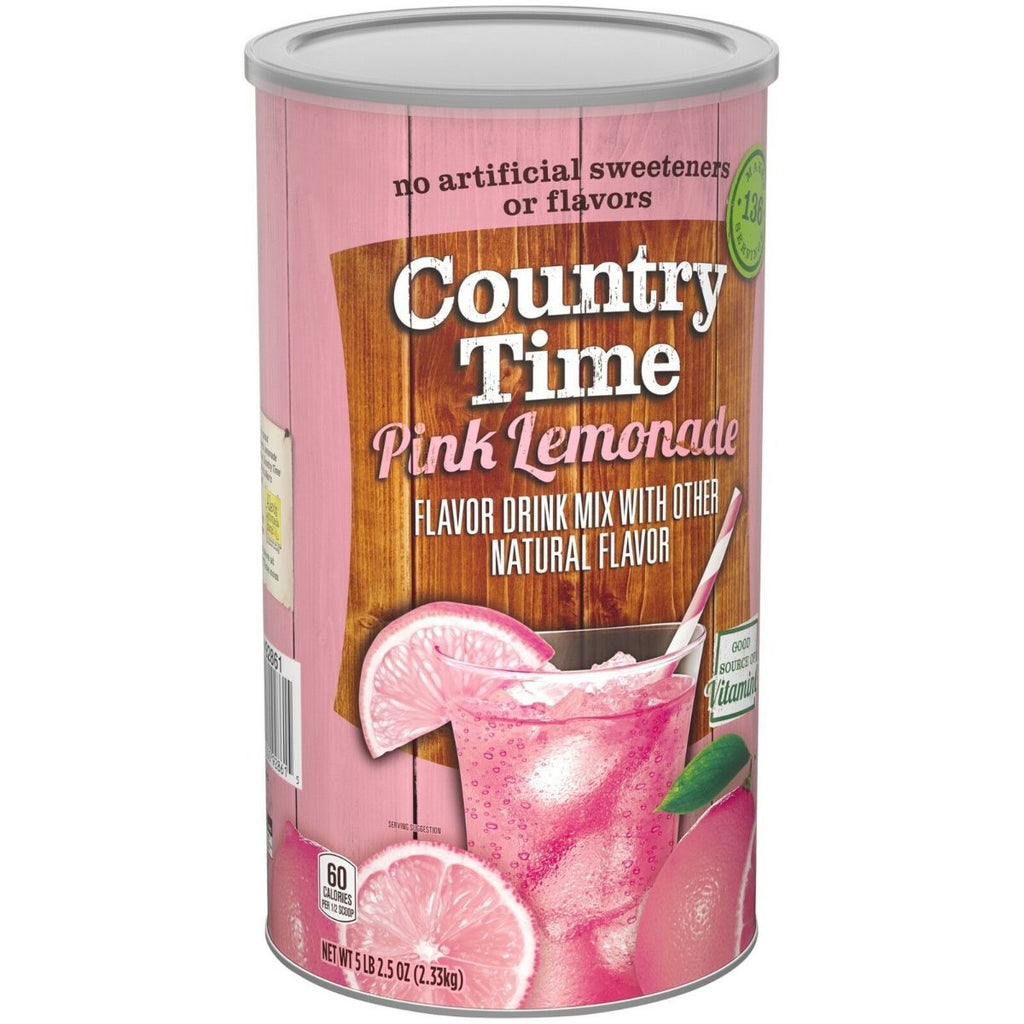 Country Time Pink Lemonade Mix, 82.5 oz