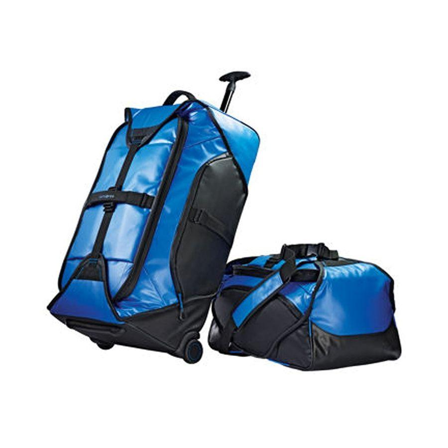 Samsonite Blue Water Resistant Duffel Set 2pc
