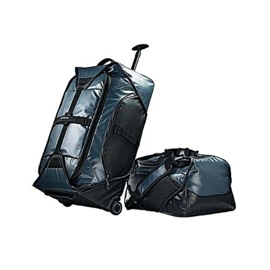 Samsonite Grey Water Resistant Duffel Set 2pc