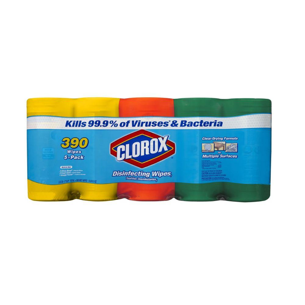 Clorox, Disinfecting Wipes, 5x 78 ct