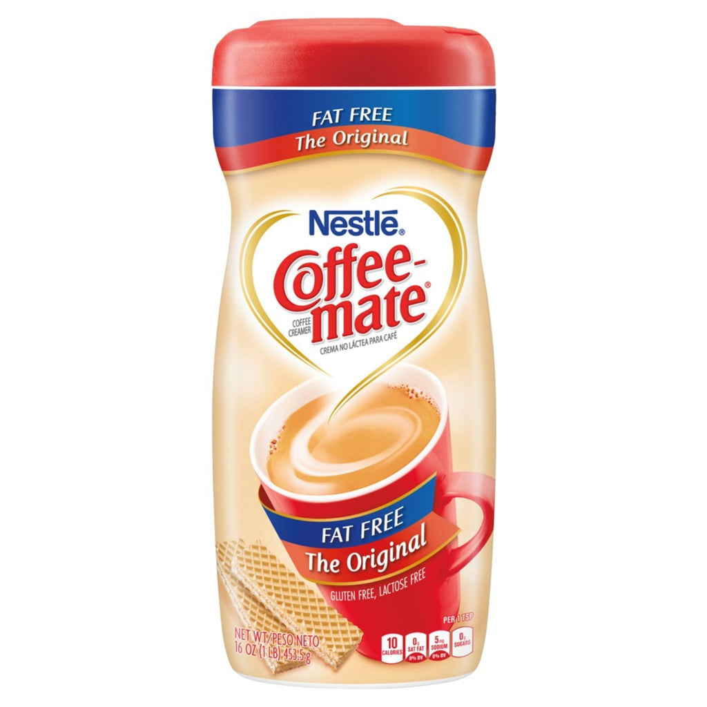 Coffee Mate The Original Fat-Free Coffee Creamer, 16 oz
