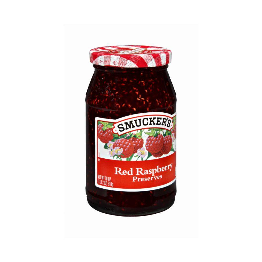 Smucker's Preserves Red Raspberry, 18 oz