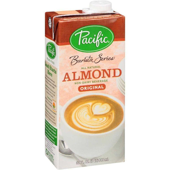 Pacific Barista Non-Dairy Almond milk -Original, 32 oz