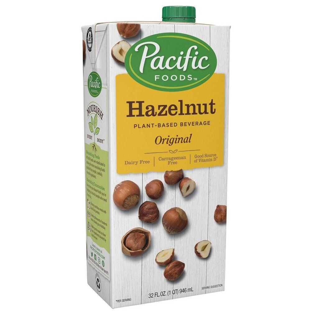 Pacific Dairy-Free Hazelnut milk -Original, 32 oz