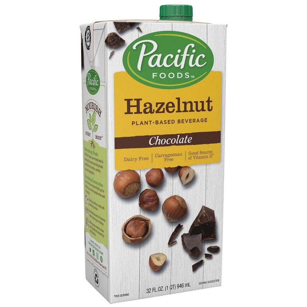 Pacific Dairy-Free Hazelnut milk -Chocolate, 32 oz