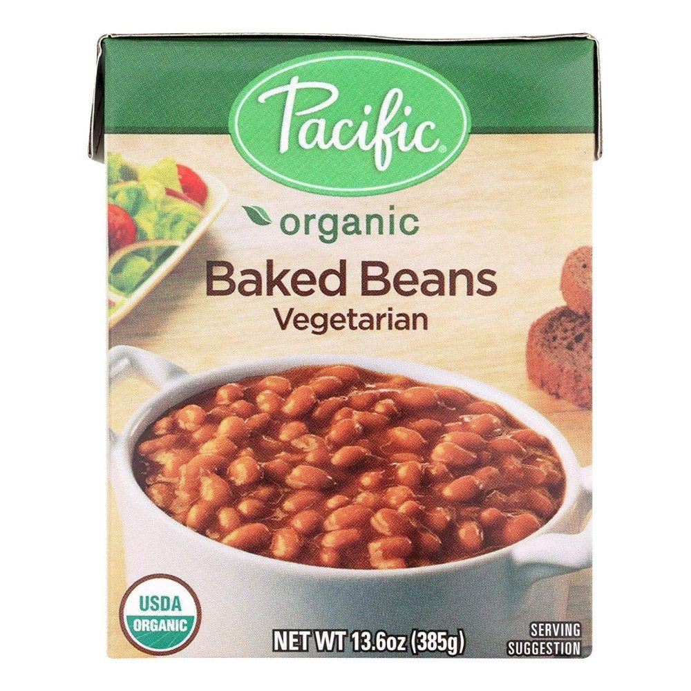 Pacific Organic Baked Beans Vegetarian, 13.6 oz