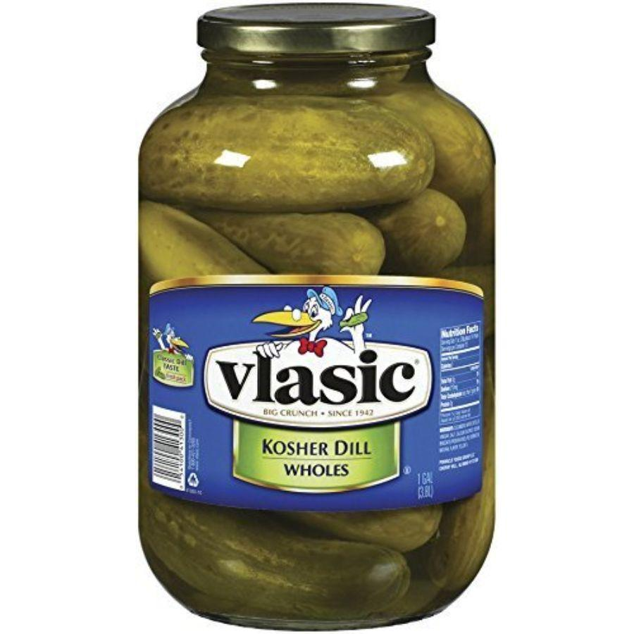 Vlasic Kosher Whole Dills, 128