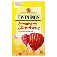 Twinings Raspberry Strawberry Loganberry, 20 ct