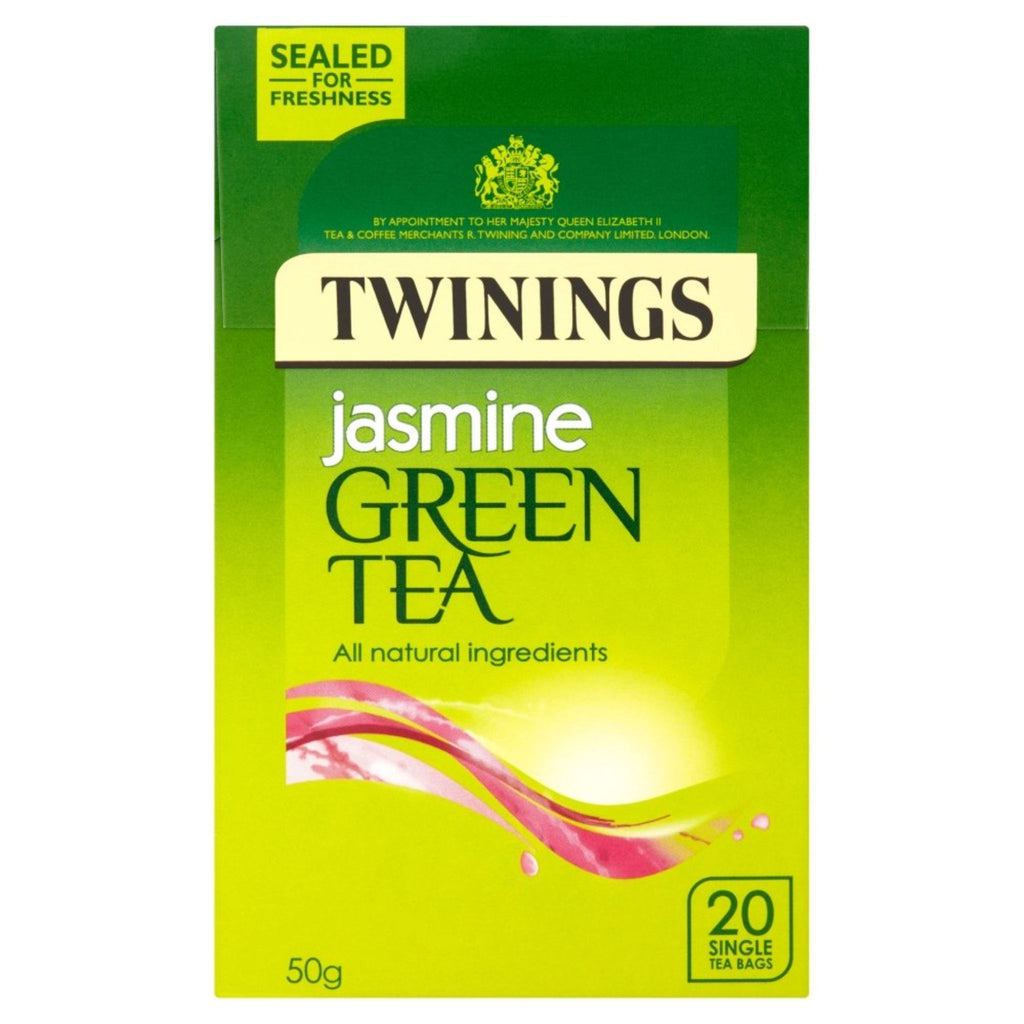 Twinings Jasmine Green Tea, 20 ct