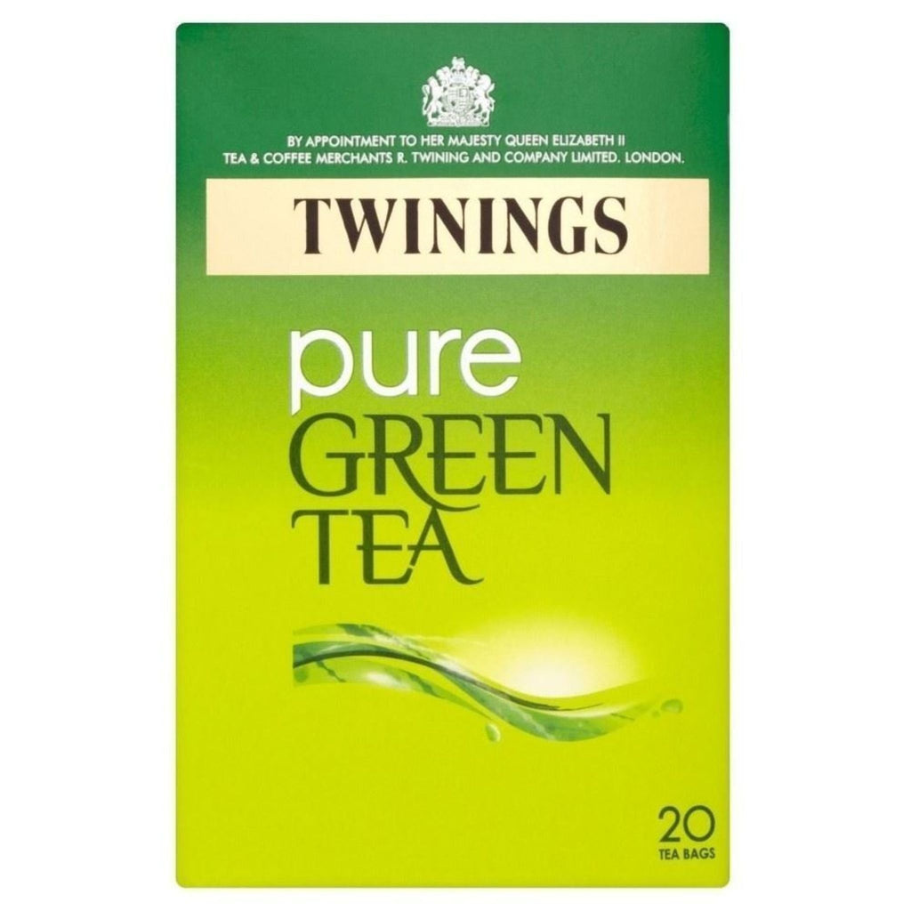 Twinings Pure Green Tea, 20 ct