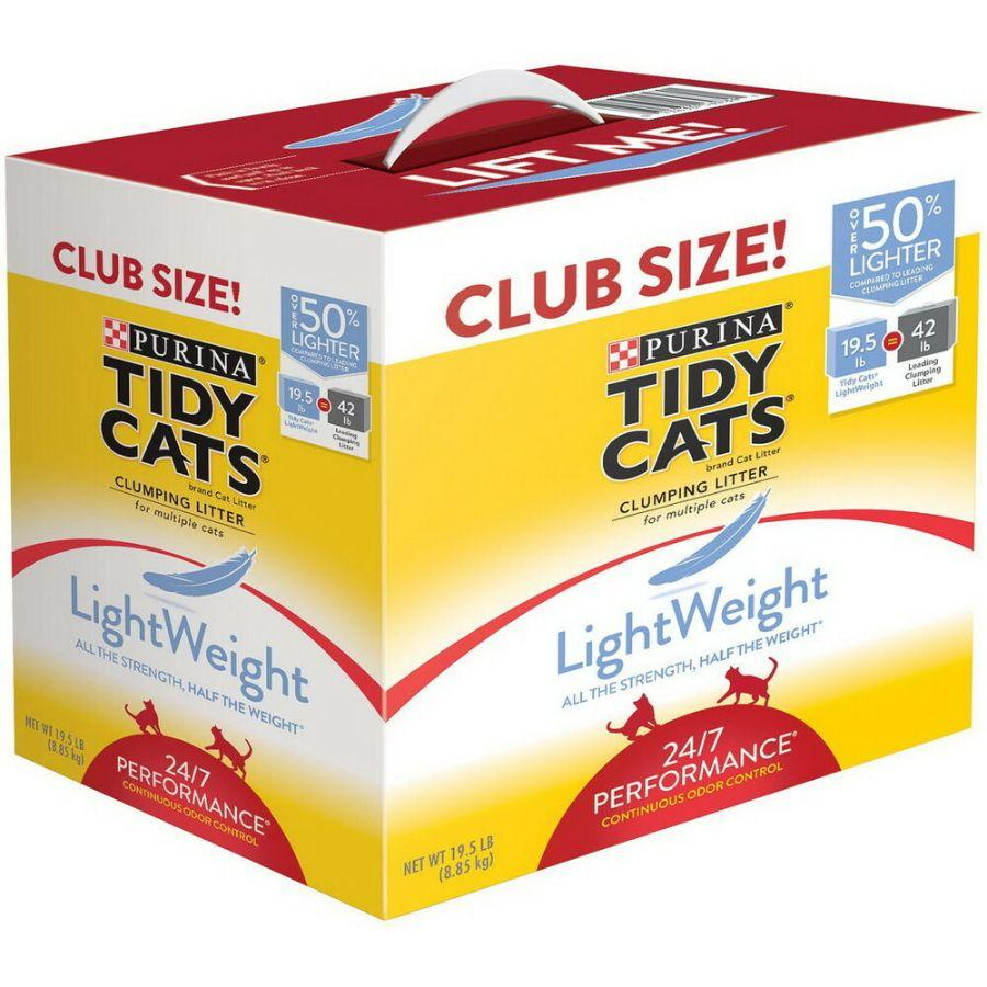 Purina Tidy Cats Lightweight Cat Litter 19.5 Lb