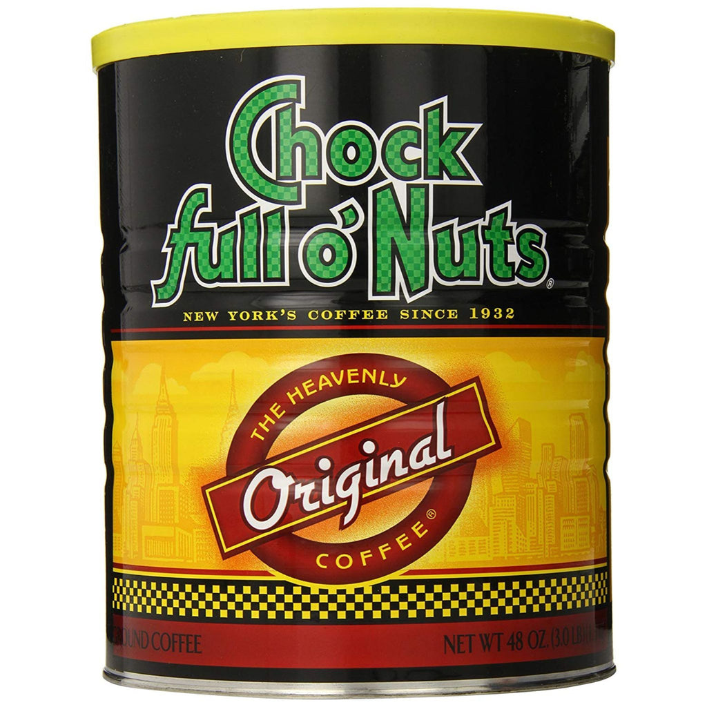 Chock Full O' Nuts, Original Coffe, 48 oz