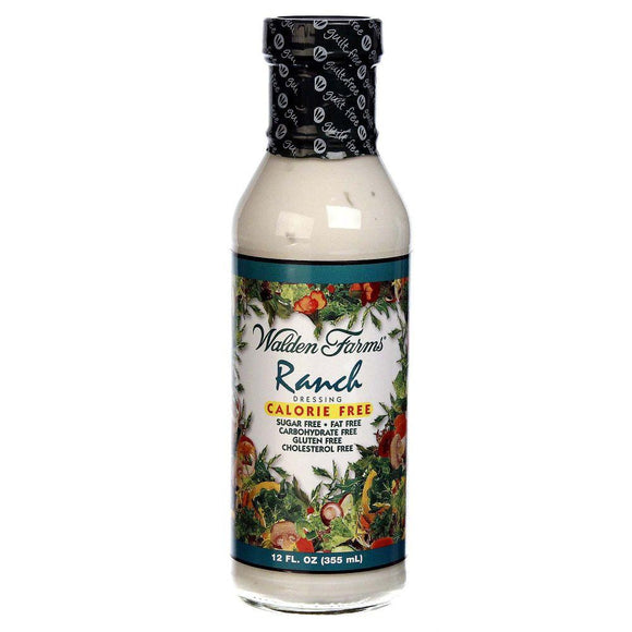 Walden Farms Ranch Dressing Calorie-Free, 12 oz