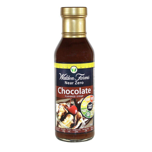 Walden Farms Chocolate Flavored Syrup Gluten Free, 12 oz