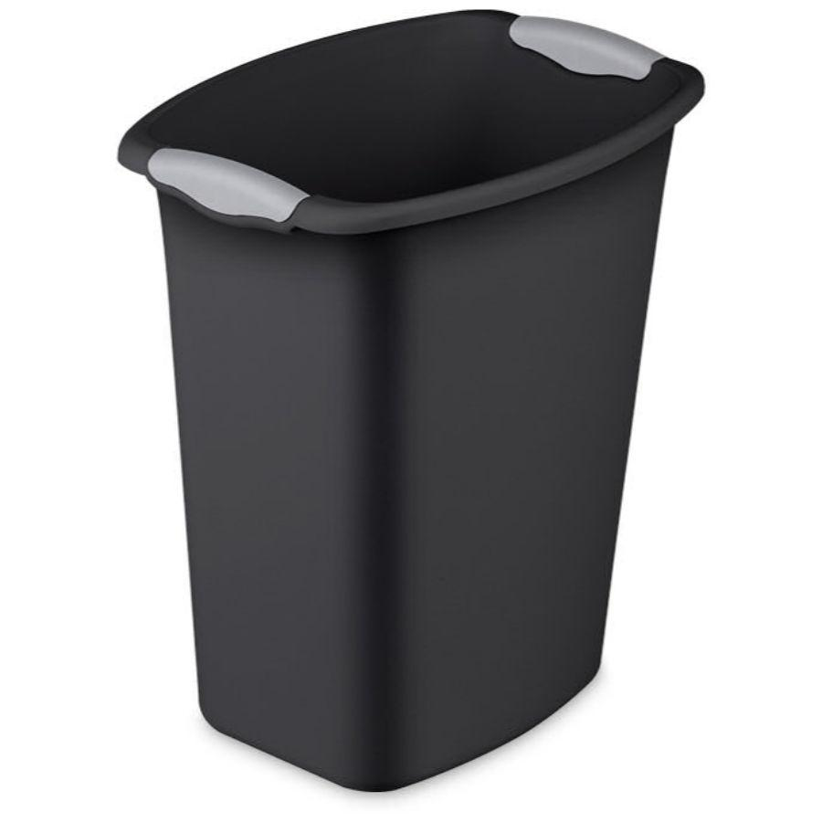 Sterilite Ultra Waste basket Black, 12 qt