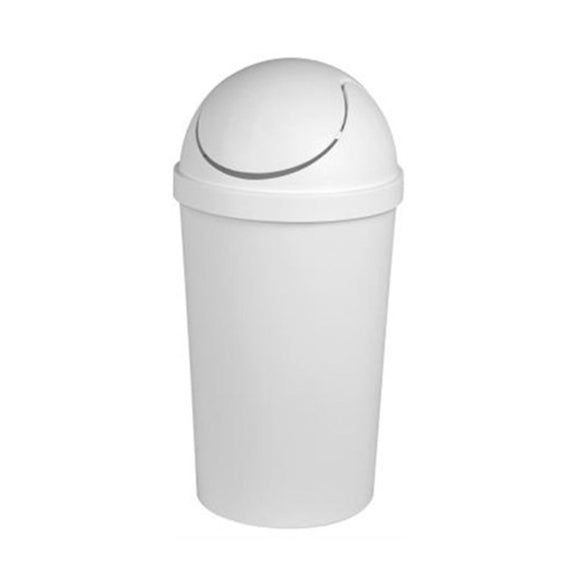 Sterilite, Swingtop Wastebasket White, 42 qt