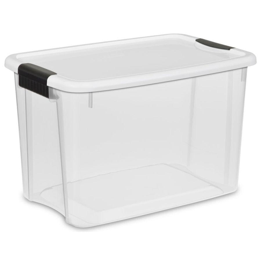 Sterilite Ultra Latch Box 30 qt, 46L x 31.1W x 29.2H