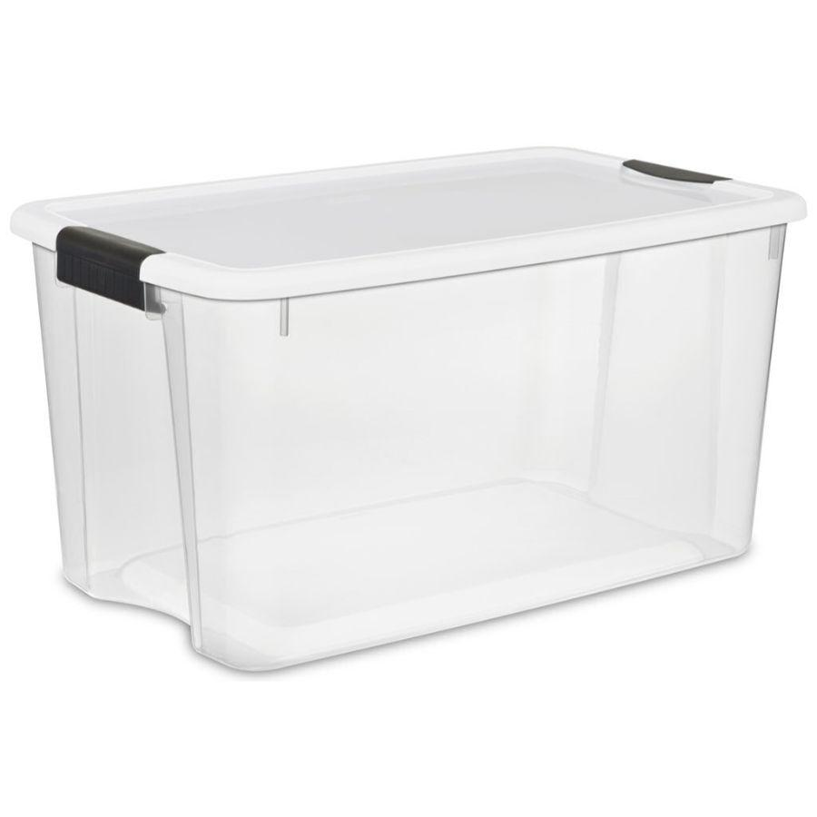 Sterilite Ultra Latch Box 70 qt, 66.4L x 41.3W x 34.3H cm