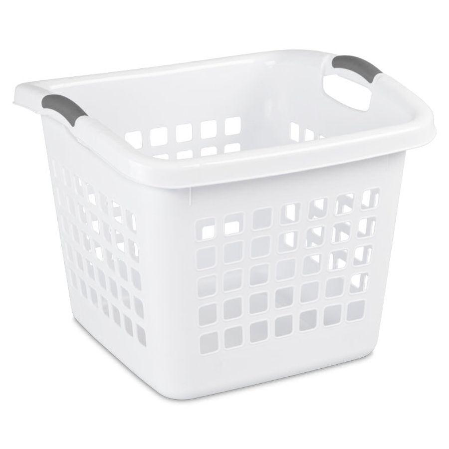 Sterilite Ultra Square Laundry Basket, 1.75 Bu