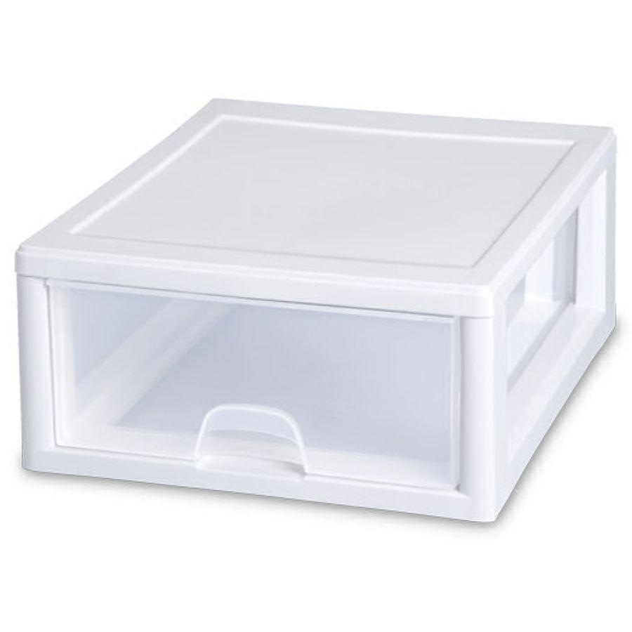 Sterilite Stacking Drawer 16 qt, 43.2L x 36.5W x 17.5H cm