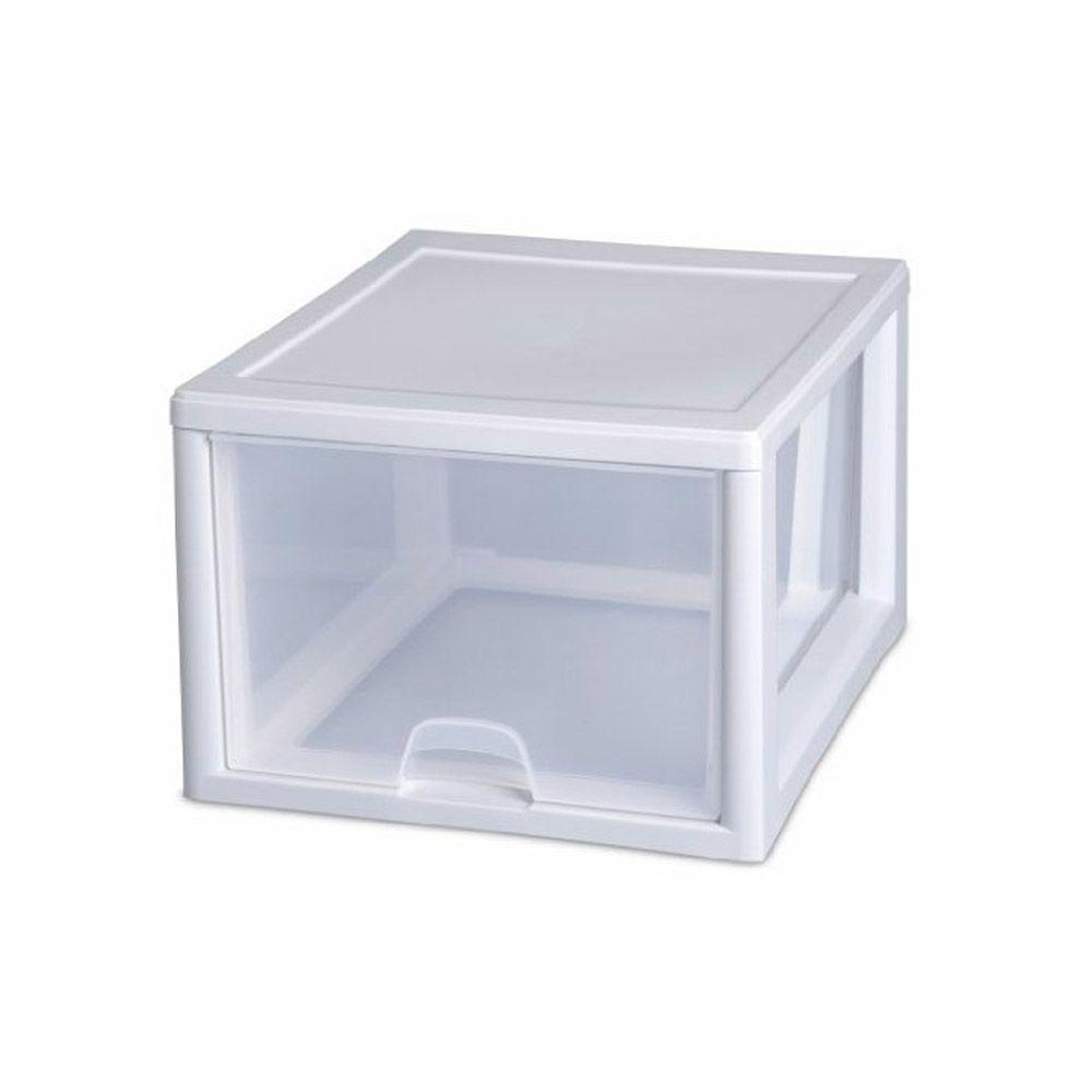 Sterilite, Stacking Drawer, 27 qt