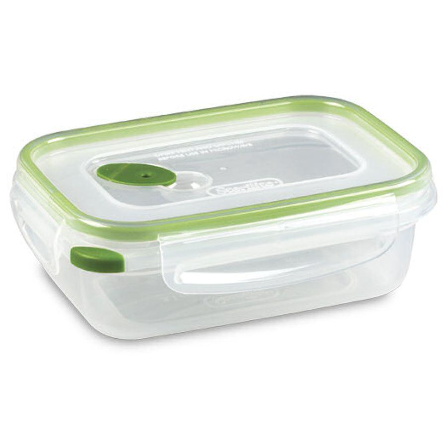 Sterilite Food Container Ultra Seal Rectangle, 3.1 Cup (Microwave, Dishwasher & Freezer Safe)