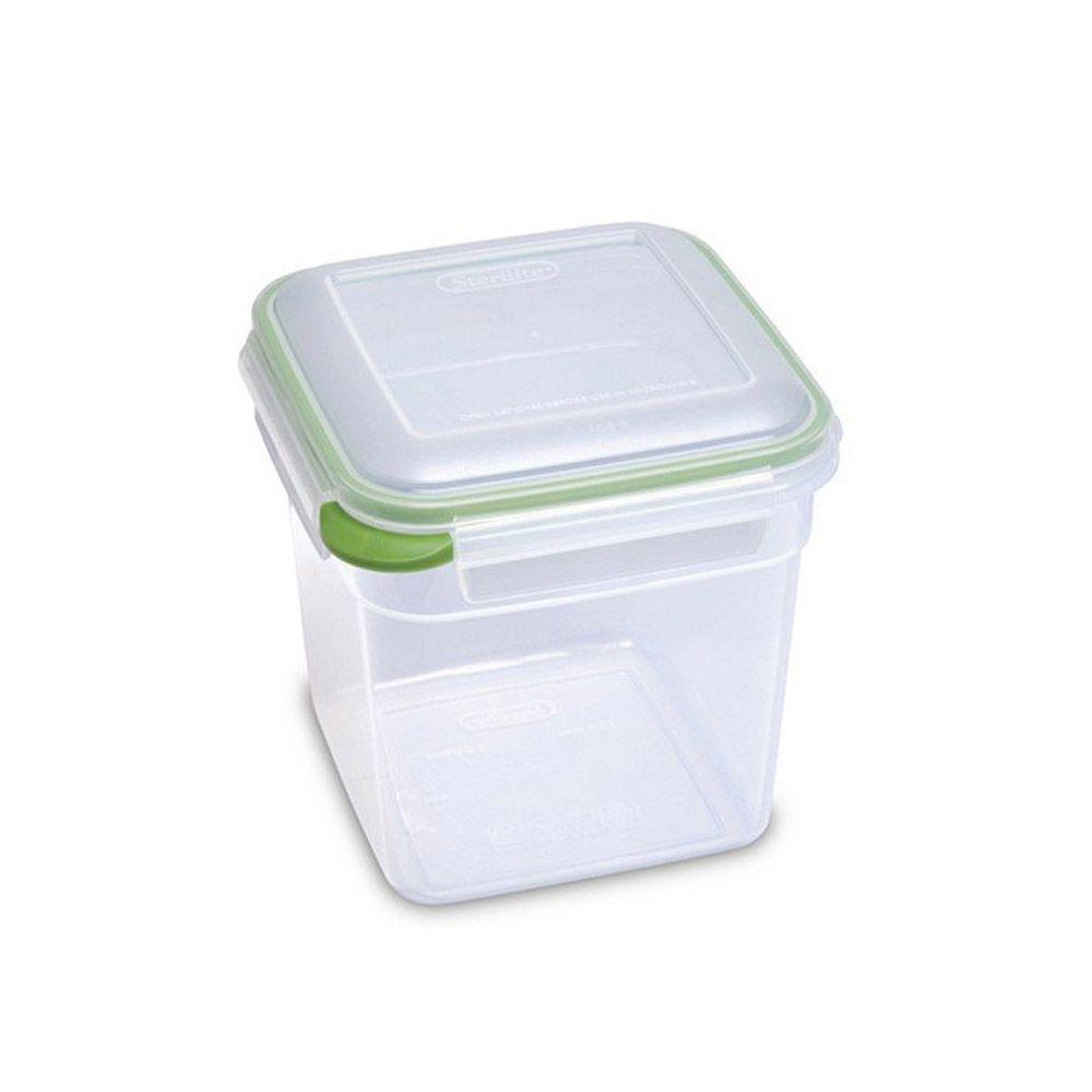 Sterilite Food Storage Ultra Seal+Latch Square, 12.6 Cup