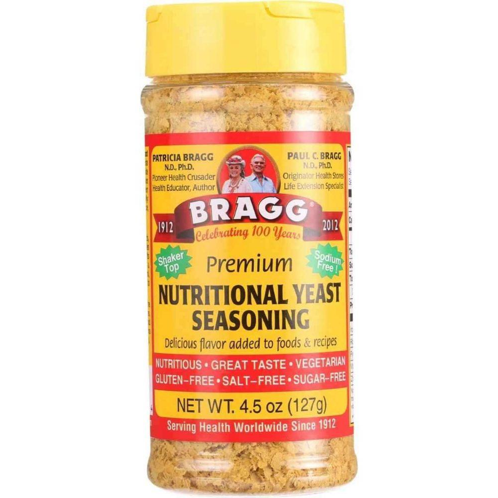 Bragg Seasoning Nutritional Yeast, 4.5 oz