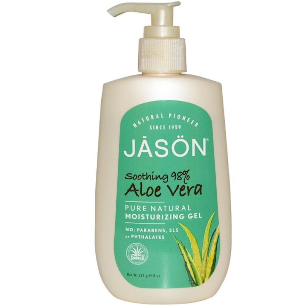 Jason, Aloe Vera Moisturizing Gel, 8 oz