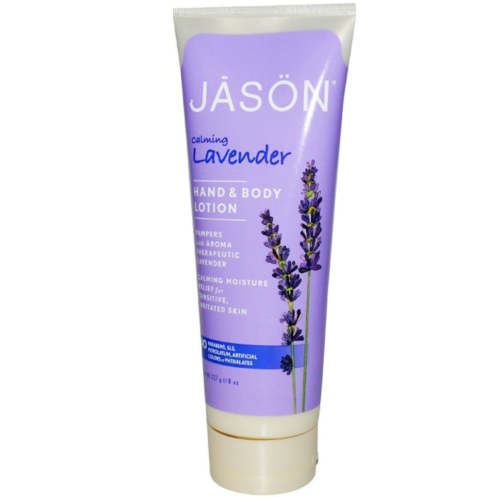 Jason, Calming Lavender Hand & Body Lotion, 8 oz