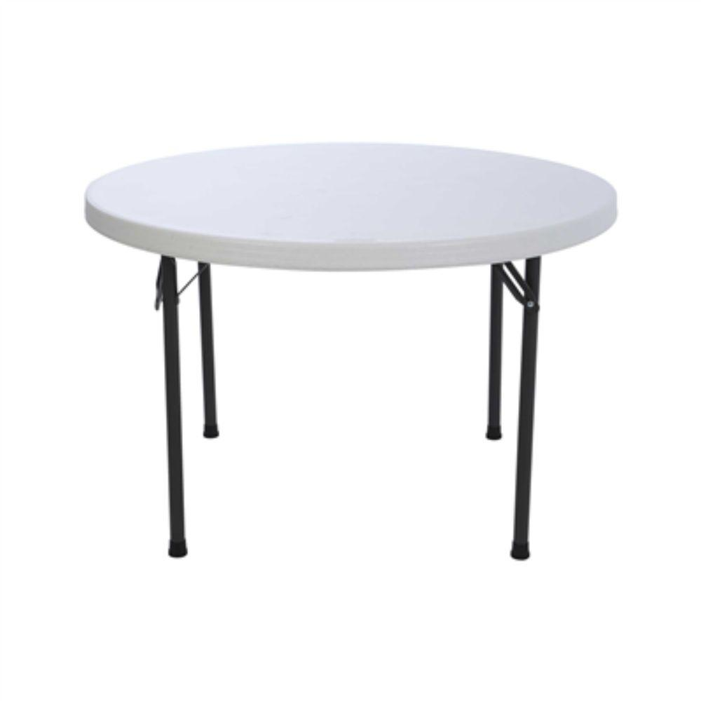 "Lifetime, 46"" Round Table, White"