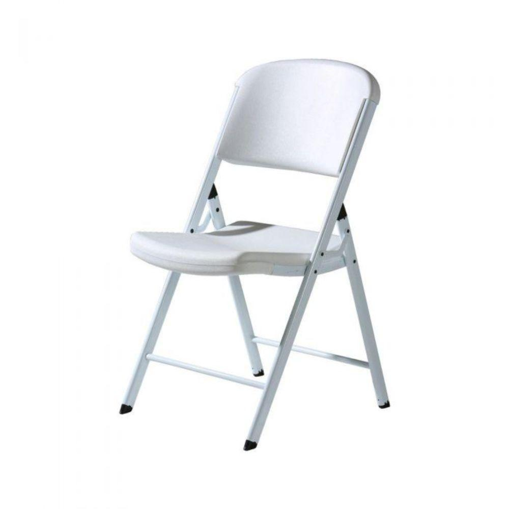 Lifetime, Folding Chair, White/Granite