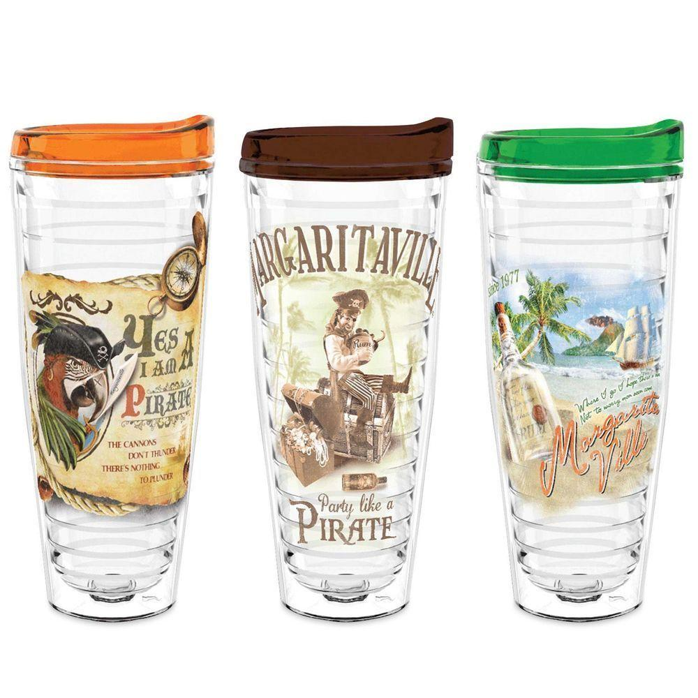 Margaritaville, Insulated Tumbler 3 x  26 oz