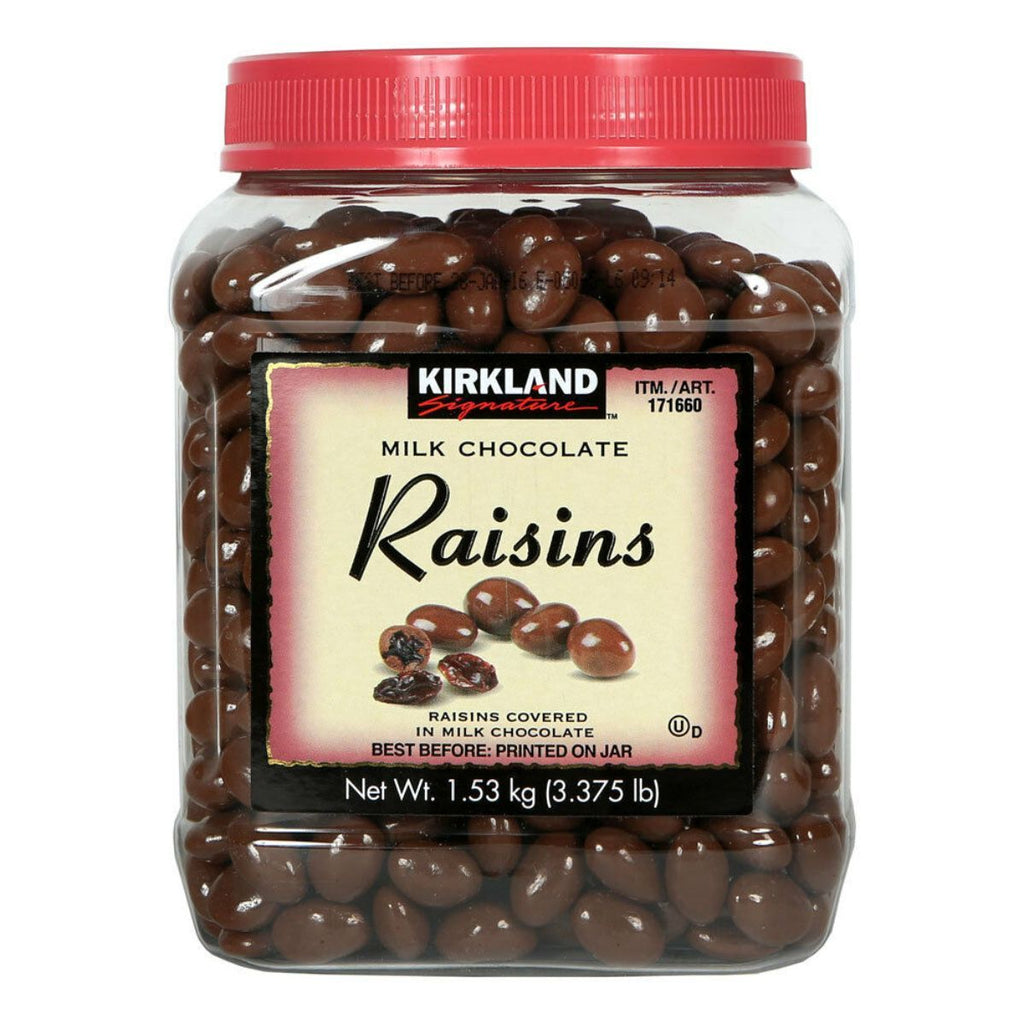 Kirkland Signature, Milk Chocolate Raisins, 54 oz