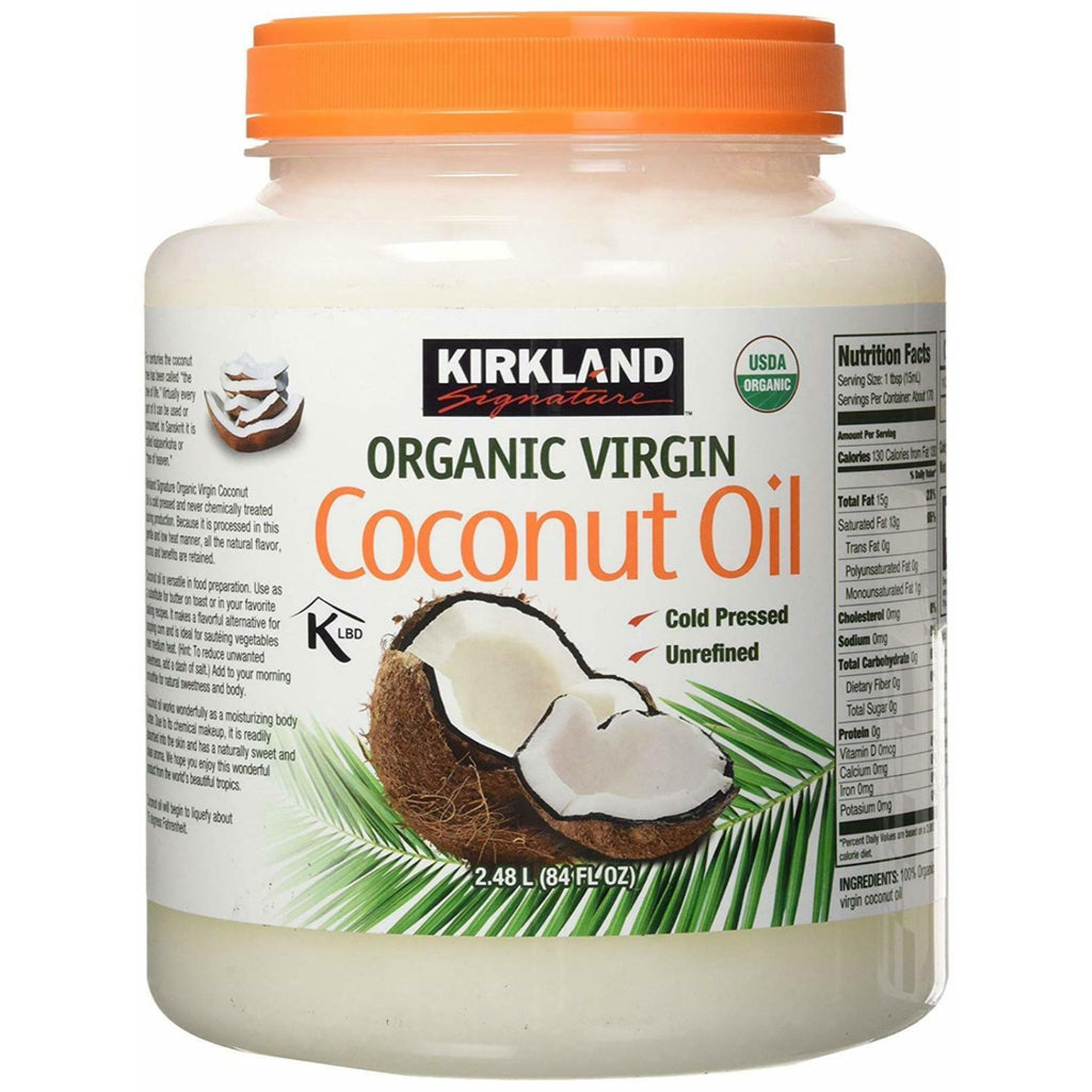 Kirkland Signature Organic Virgin Coconut Oil, 84 Oz