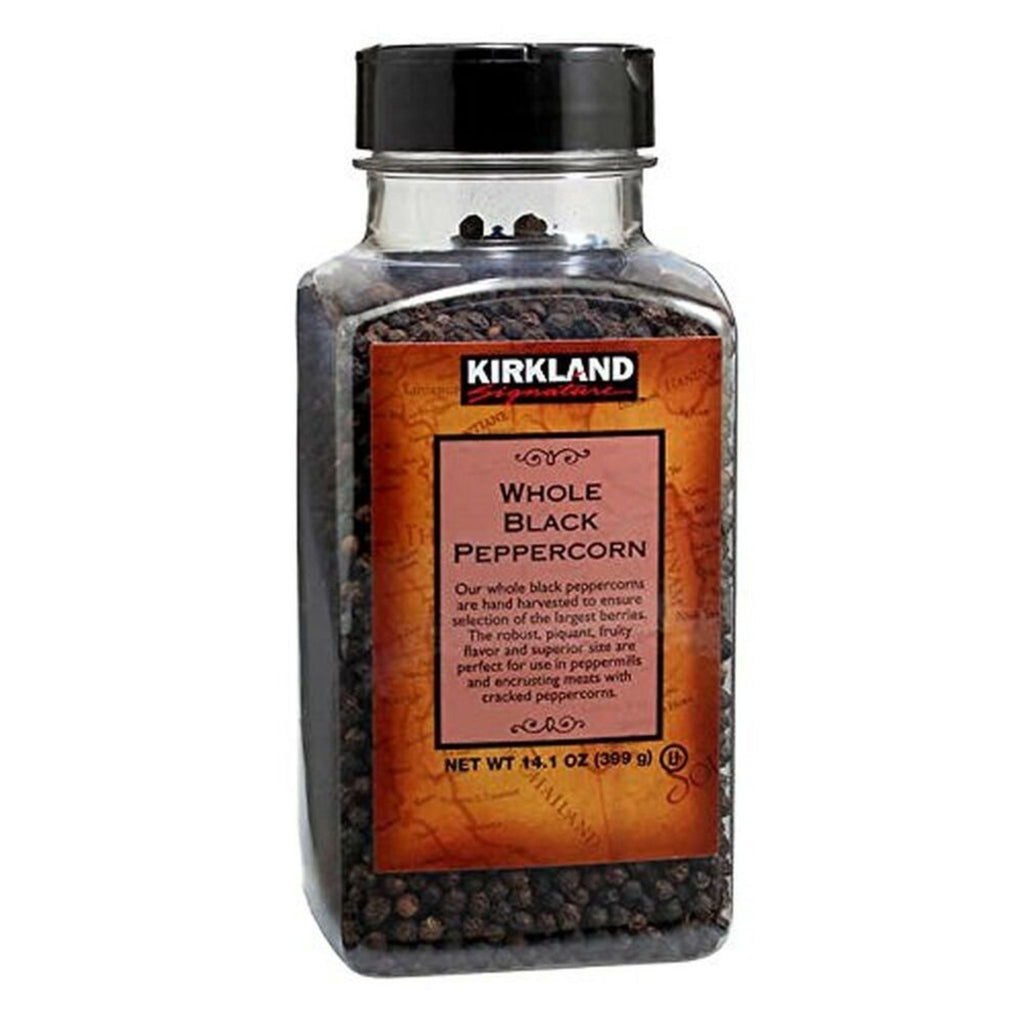 Kirkland Signature, Whole Black Peppercorn, 14.1 oz
