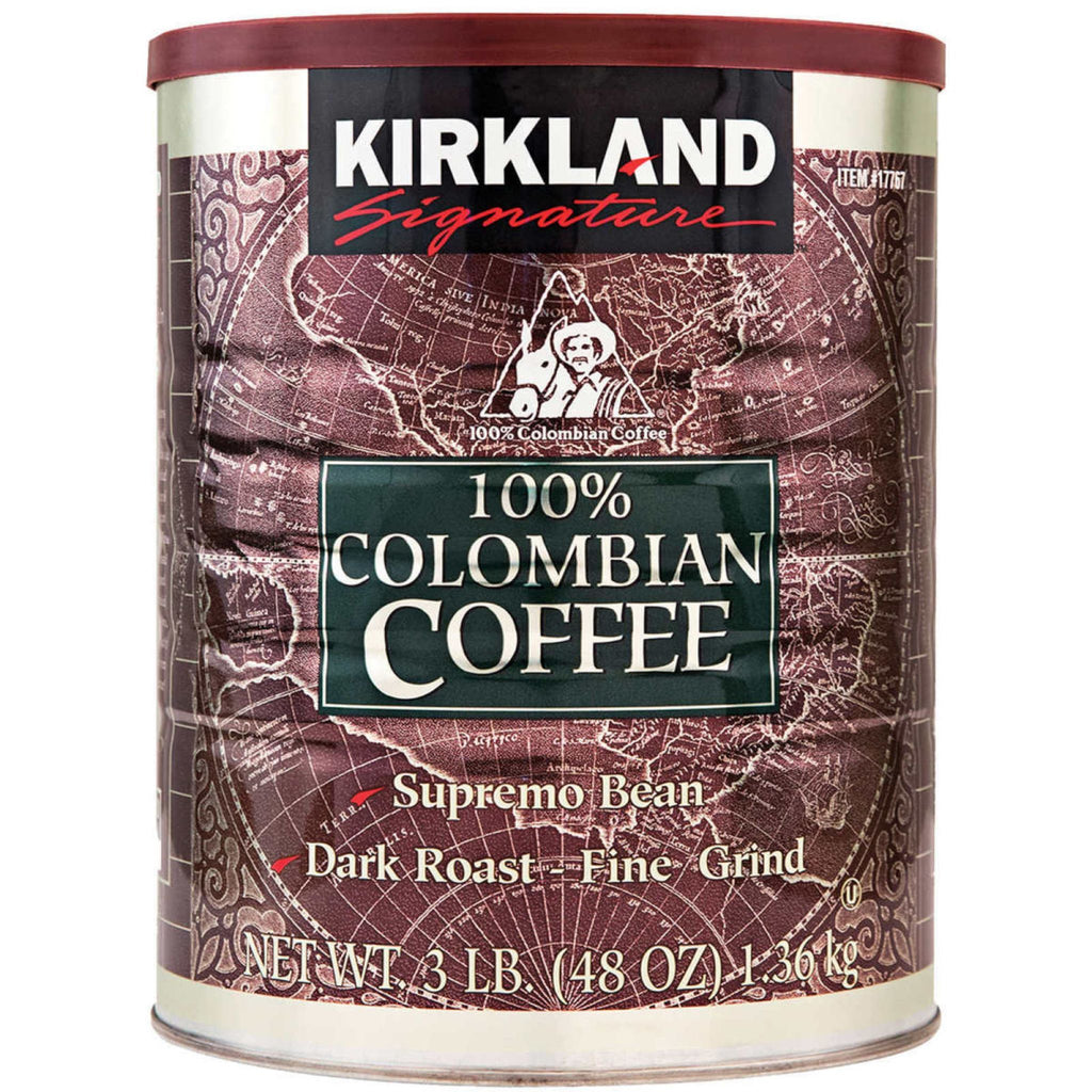 Kirkland Signature, Colombian Coffee, 48 oz