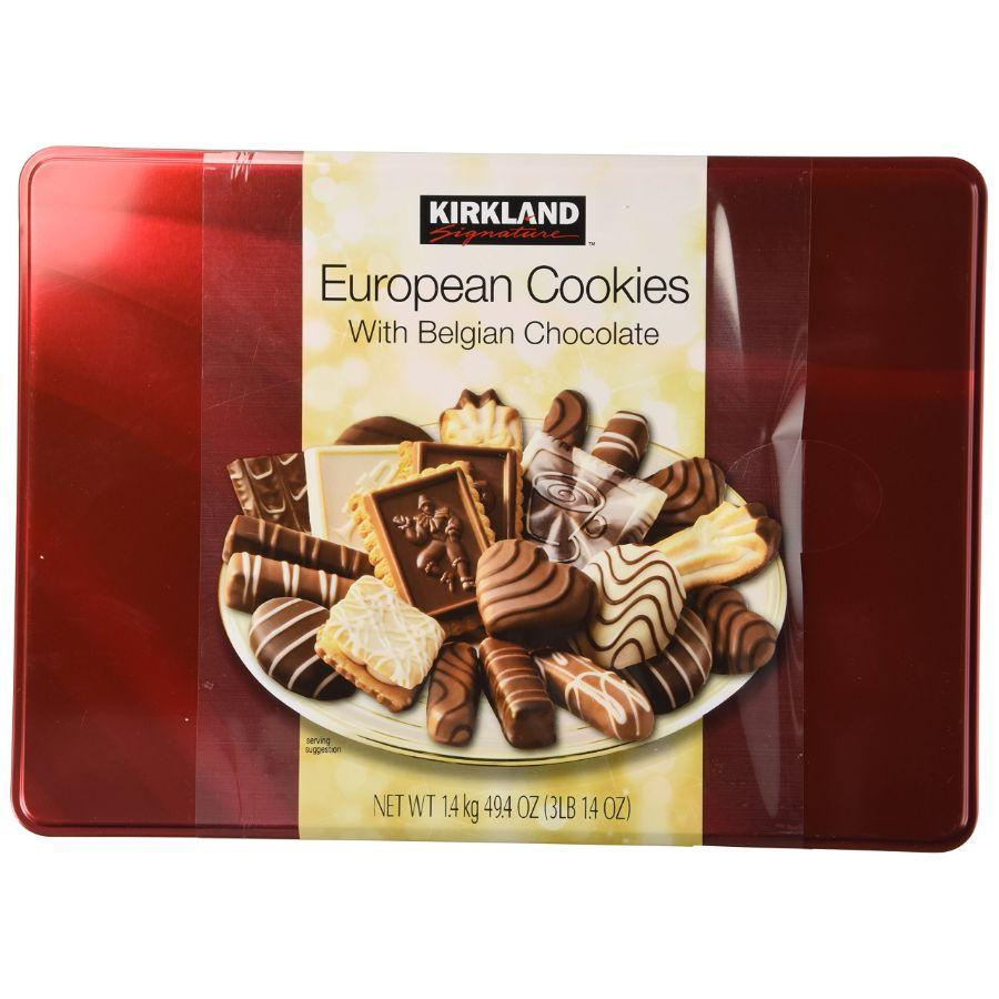 Kirkland Signature Belgian Chocolate Cookies, 49.4 oz