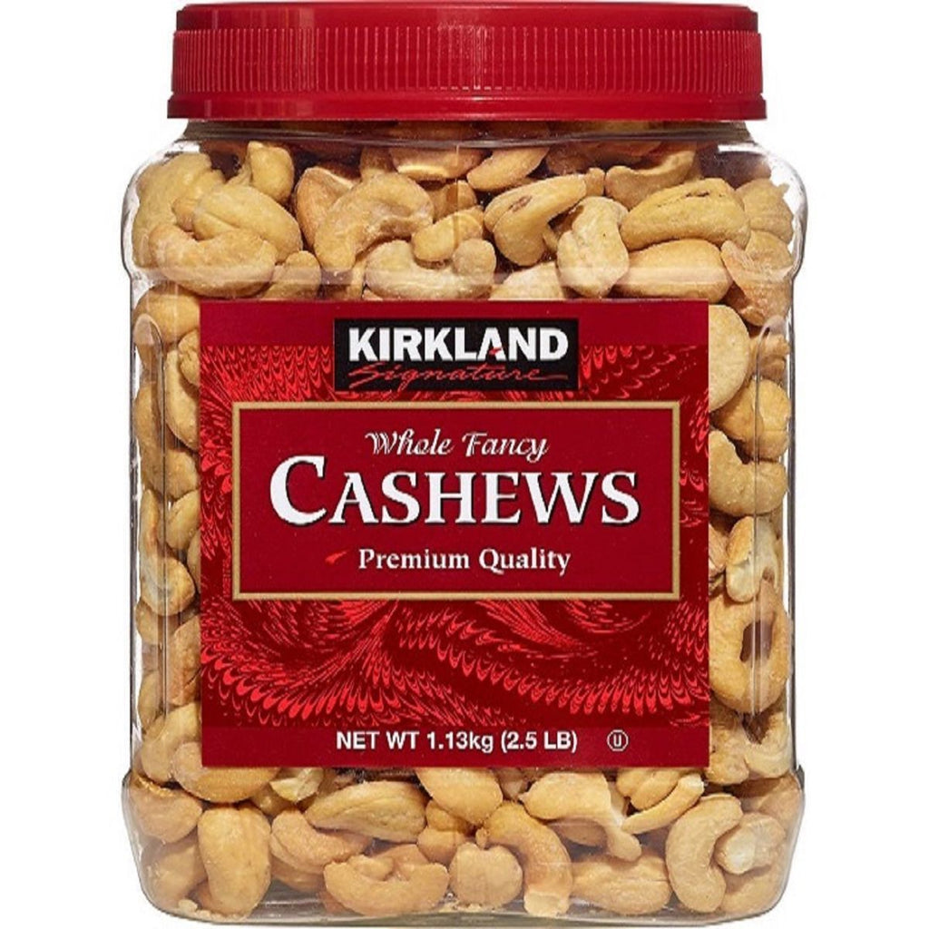 Kirkland Signature, Whole Fancy Cashews, 40 oz